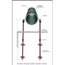 Система анкерных болтов трубопроводов