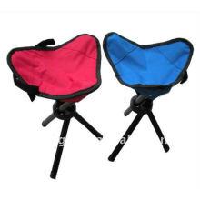 polychrome 3 legs stool VLA-7002