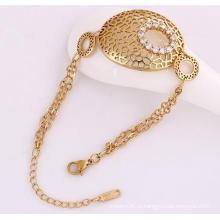 Xuping 18k Золото Цвет Мода Браслет (72285)