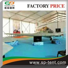 Tissu imperméable en PVC Tentes d'expositions de l'armée Chine usine