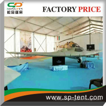 Waterproof PVC fabric Army expositions tents China factory