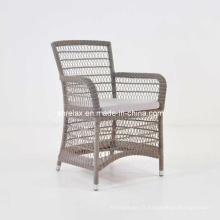 Chaise de jardin net en osier mobilier rotin extérieur meubles