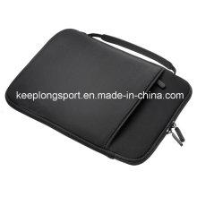 Étui pour ordinateur portable en néoprène à la mode avec poignée, housse pour ordinateur portable en néoprène