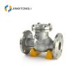 O aço inoxidável do compressor de ar JKTLPC011 flangeou válvula de verificação de 2 polegadas