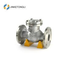 Válvula de retención de 2 pulgadas con brida de acero inoxidable con compresor de aire JKTLPC011