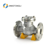 Compresseur d'air JKTLPC011 en acier inoxydable bridé clapet anti-retour de 2 pouces