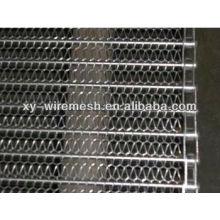 De alta resistencia malla de cinta transportadora de acero inoxidable (fábrica)