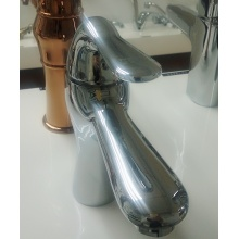 Brass Chrome Single Hole Wash Basin Mixer Taps