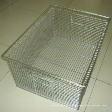 Wire Mesh Storage Box Metal Basket