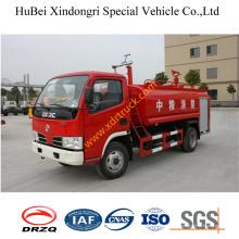 Camión del agua del camión de bomberos de 6ton Dongfeng Euro3