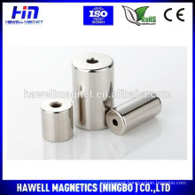 neodymium ring magnet, permanent type, cheap N35, N38, N42, N45, N48,N52 grade