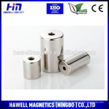 Постоянный магнит с двойными отверстиями