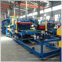 EPS Steinwolle isoliertes Dach Panel Maschine