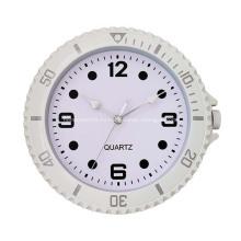 Рекламные пластиковые отпечатанные настенные часы