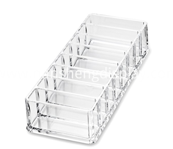 Acrylic Clear Compact Makeup Organizer