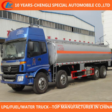 4 Axle Big Capacity 25000 Liters Fuel Tank Truck for Sale
