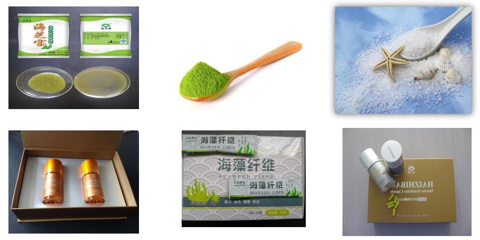 Kelp Powder Application