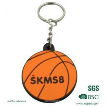 Diseño personalizado Soft PVC Keyring para la promoción