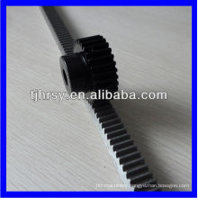High precision Standard steel rack and gear for CNC machine