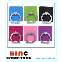 Anneau créatif magnétique paresseux de support de téléphone portable