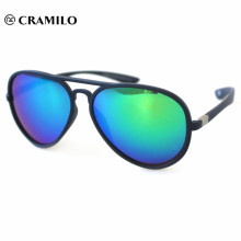 rolling rimless sunglasses
