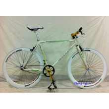 Bicicleta de Engrenagem Fixa de Aço Carbono de Alto Grau 700c