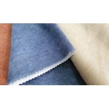 Tecido de lã super macio com ligação de bolhas de poliéster jacquard