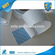 Leere sicherheit tamper evident offen VOID papier kein drucken roh material