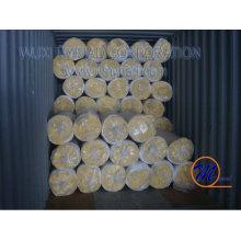 Couverture en laine de verre à structure en acier
