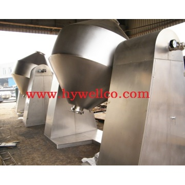 Bahan Bateri Double Cone Vacuum Dryer