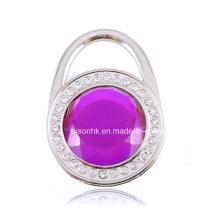 Gancho da bolsa do diamante de Colorfull para presentes à moda da promoção dos Gitfs
