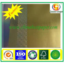Quick delivery GOLD/SILVER Cardboard Paper