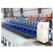 Warehouse rack and shelf cold roll forming machine