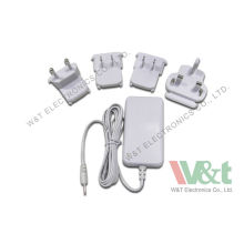 Eu To Uk Ni-mh / Ni-hydrogen Battery Multi Plug Ac Adapter / Charger For Digital Camera