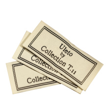 New Innovative Exquisite Organic Cotton Recycle Woven Garment Label Tag For Clothing