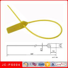 Joint en plastique de sécurité de banque de Jc-PS004, cravates imprimées