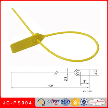 Jc-PS004 Plastic Bank Security Seal, Printed Cable Ties