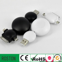 Factory Price Retractable Charger USB Cable