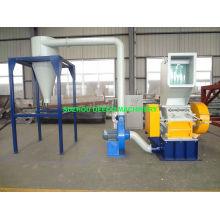 Sistema de almacenamiento soplador de plástico trituradora