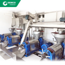 Complete oil mill screw oil press moringa seed castor oil production line for sale