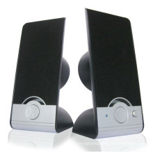 2.0 computer speaker for plastic speaker with CE and ROHS