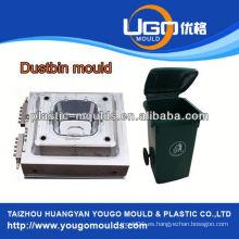 De alta calidad basurero Bin molde proveedor de moldes de plástico Taizhou Zhejiang fábrica