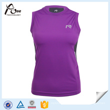 Wholesale Sport Wear Sleeveless Compression Wear Compression Tank Top