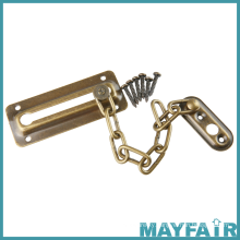 Hardware Accessories Steel Zinc Alloy Safety Metal Door Chain