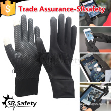 SRSAFETY Black magic knitted glove for smartphone/touch magic gloves/Glove for smartphone