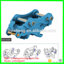 Applicable excavator 5 tons -12 tons hydraulic and mechanical excavator quick coupler