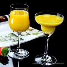 2015 copa de vino de cristal novela para la barra o el partido utiliza la taza de jugo de fruta