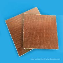 Folha laminada do algodão fenólico da tela 3025