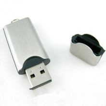 OEM Custom Logo Ssmile Gesicht Metall Flash Drive