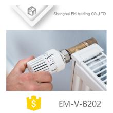 Válvula termostática padrão do radiador do ângulo de EM-V-B202